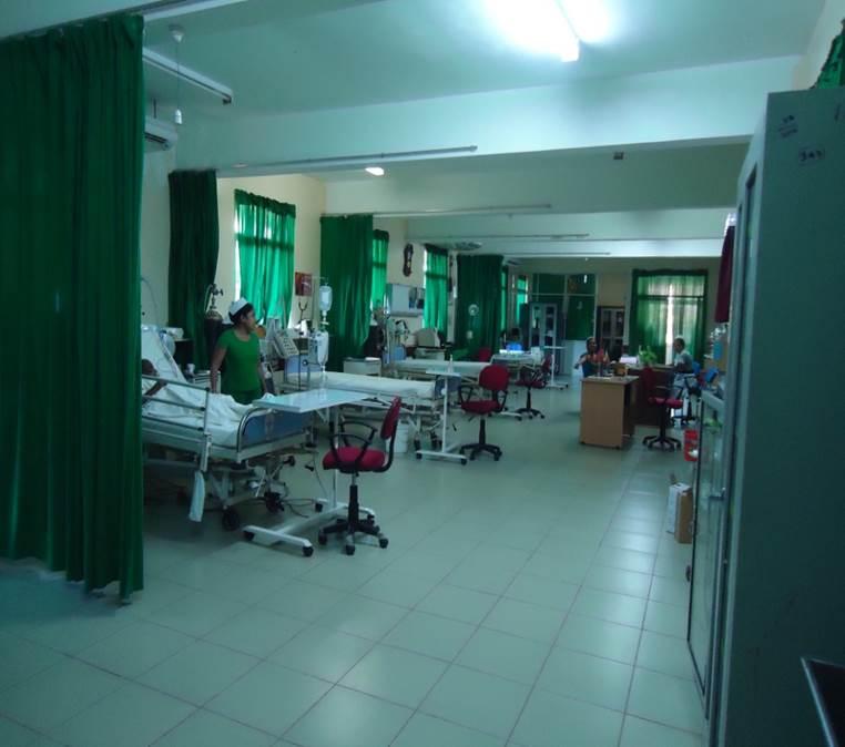 Present Services Kanthale Base Hospital